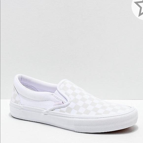 Vans Shoes | Holographic Slip On Vans